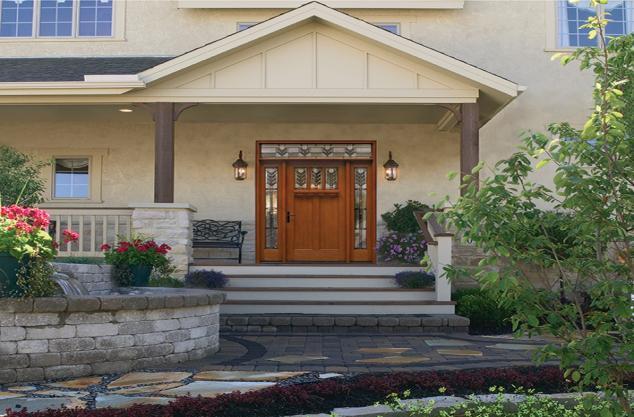 Custom exterior door refinish, repair Top Coat